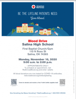 Salina High School Blood Drive