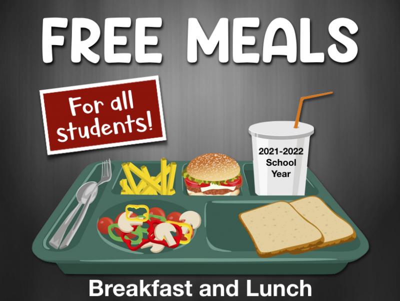 Free Meals in School Year 2021-2022
