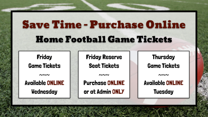 Order Home Football Tickets Online