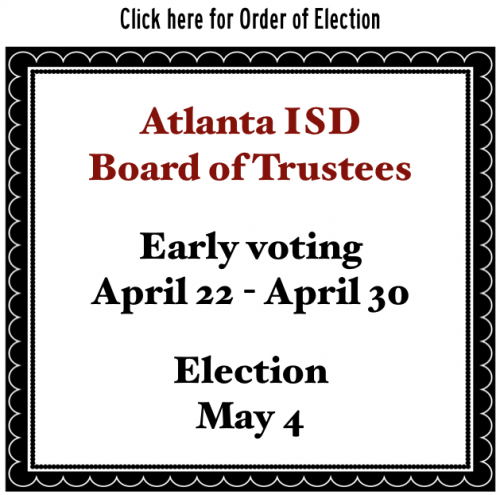 Order of Election - AISD Board of Trustees