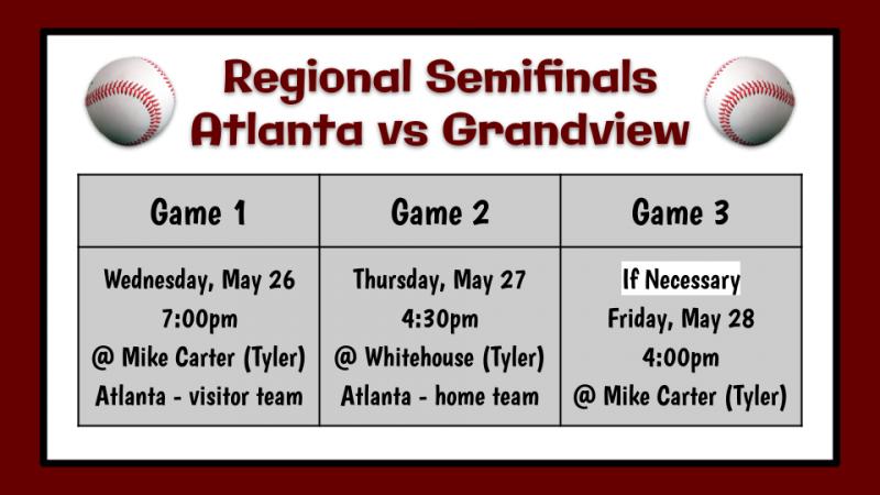 Baseball Regional Semifinals
