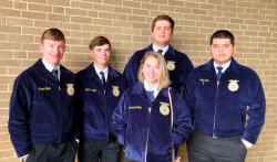Atlanta FFA Members Attend Texas FFA Convention in Fort Worth