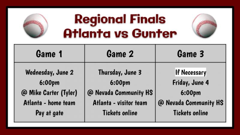 Baseball Regional Finals