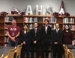 AHS Students Compete in Congressional Debate