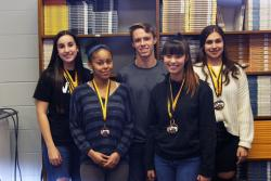Members of the UIL Journalism Team Earn Medals at Academic Meet