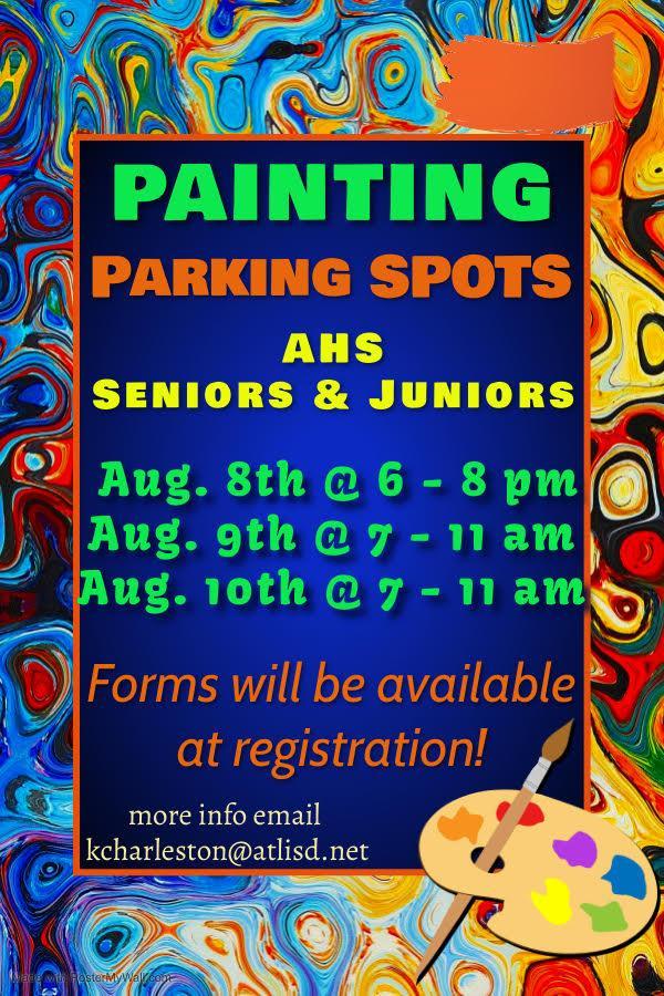 Painting Parking Spots