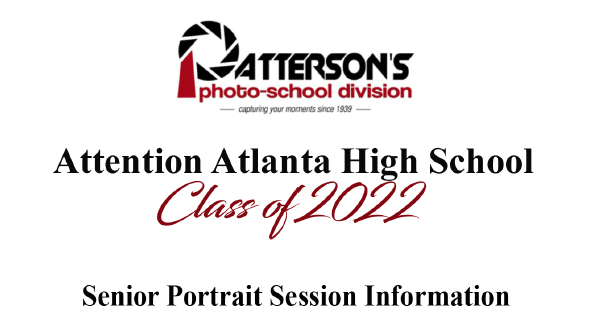 Senior Portrait Session Information