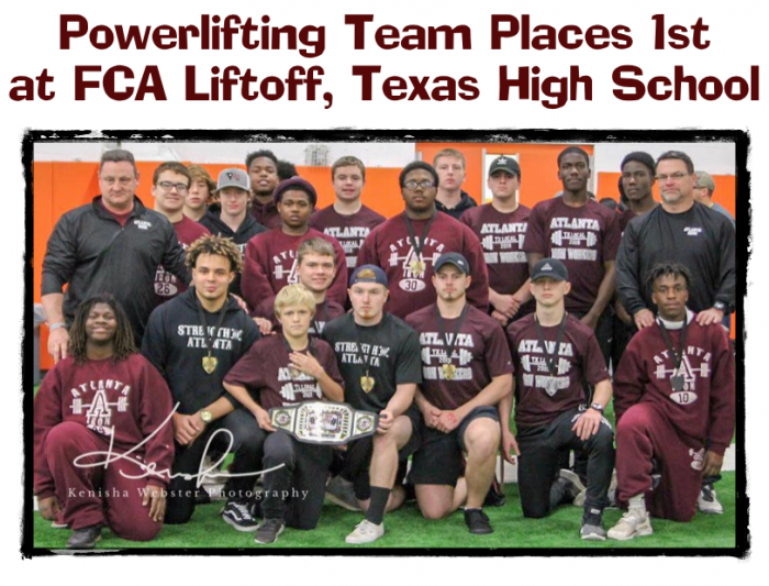 Powerlifting Team Places 1st