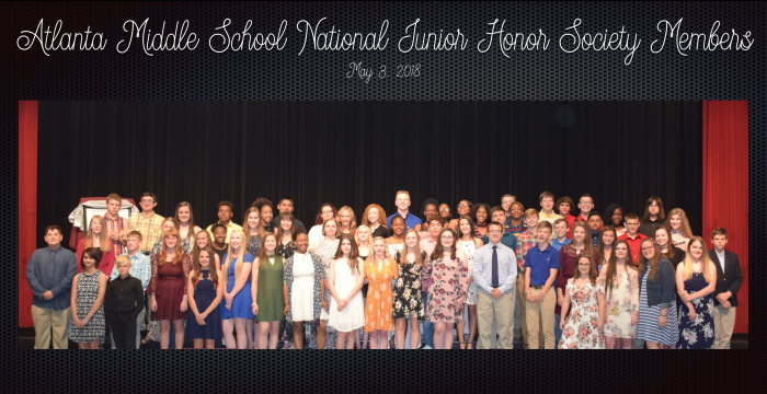 AMS National Junior Honor Society Members