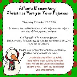 AES Christmas Party in Your Pajamas