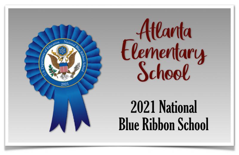 Atlanta Elementary Is Awarded 2021 Blue Ribbon School Status