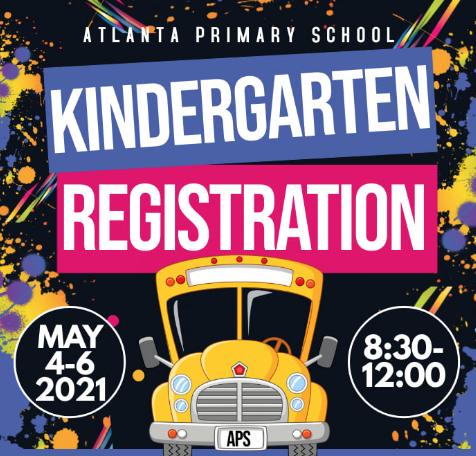 APS Kindergarten Registration - May 4-6