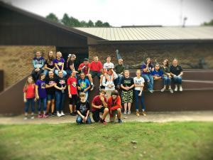 8th Grade Class at Sequoyah National Wildlife Refuge