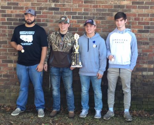 1st Place - Senior Survey Team