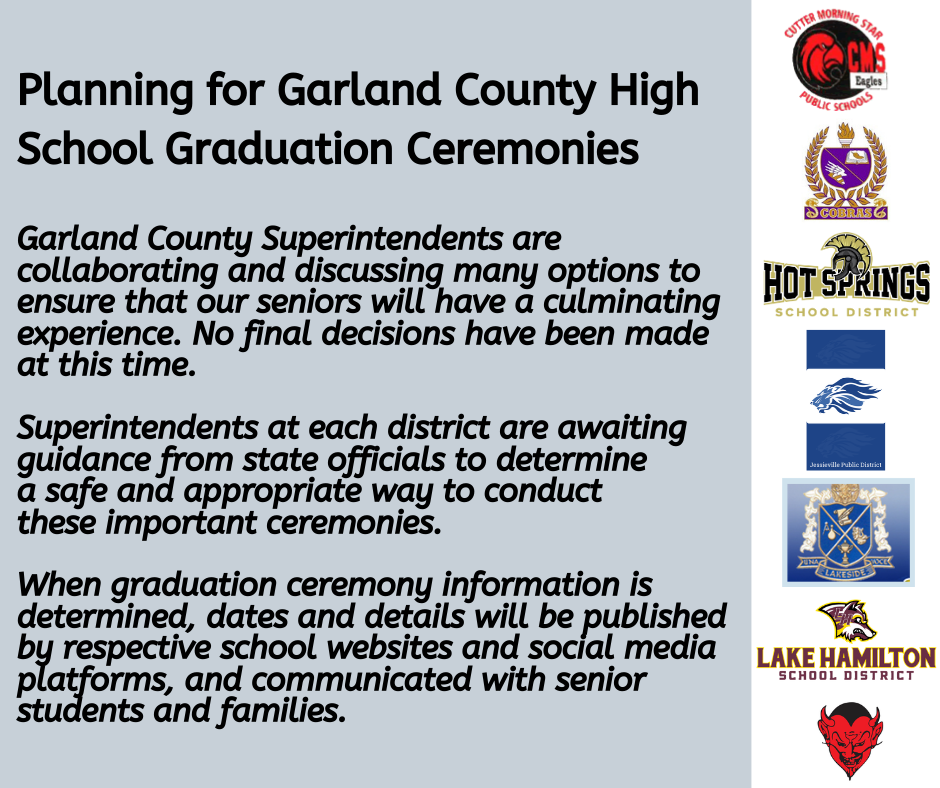 Garland County High School Graduation Ceremonies