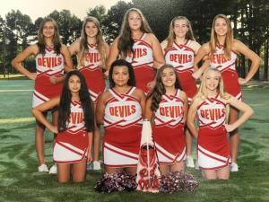 Jr. High Cheerleaders  2015-16