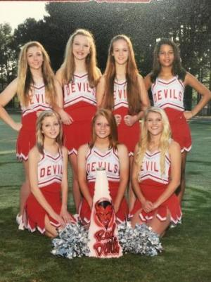 High School Cheerleaders  2015-2016