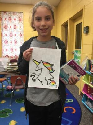 Avery's a Pixel Art winner!