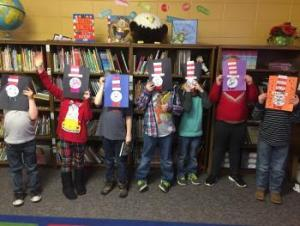 First graders & their Cats in the Hat