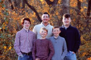 My boys. Colby, Jackson, Aidan, and Tyler