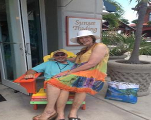 My wife and I in the Bahamas