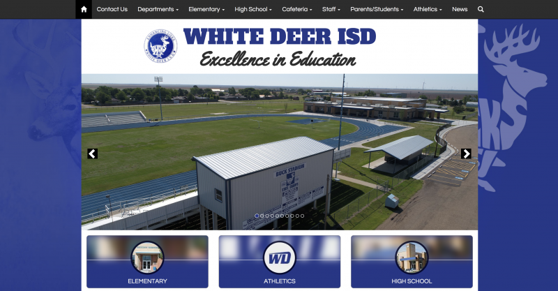 An Image showing White Deer ISD