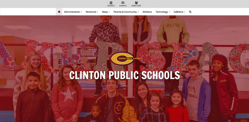 An Image showing Clinton Public Schools