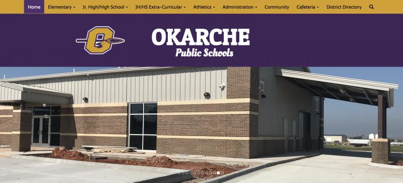 An Image showing Okarche Public Schools