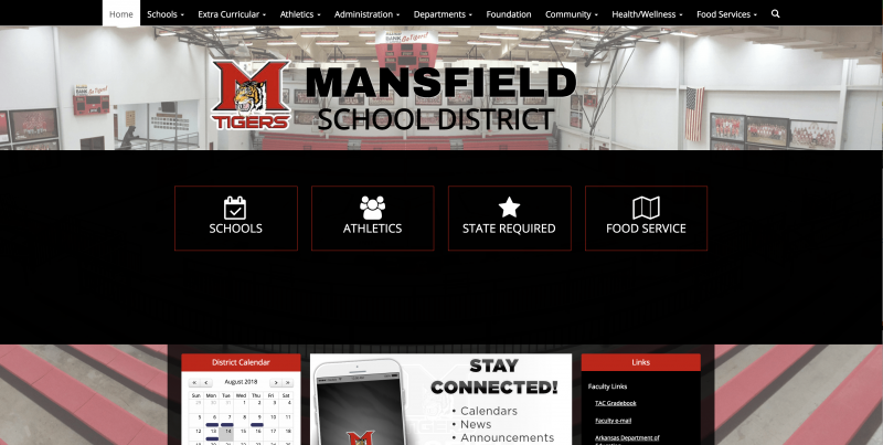 An Image showing Mansfield School District
