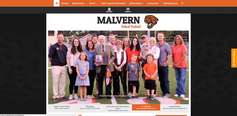 An Image showing Malvern School District