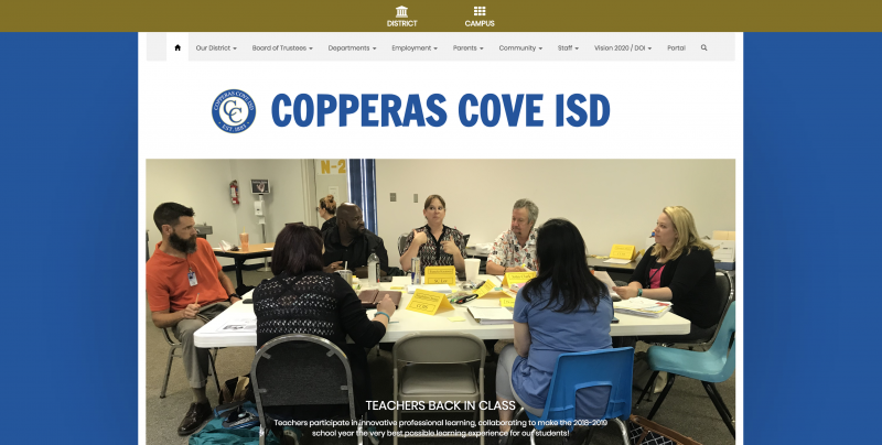 An Image showing Copperas Cove ISD