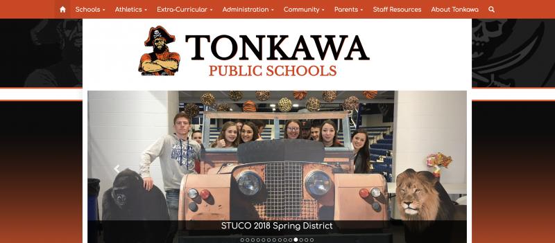 An Image showing Tonkawa Public Schools