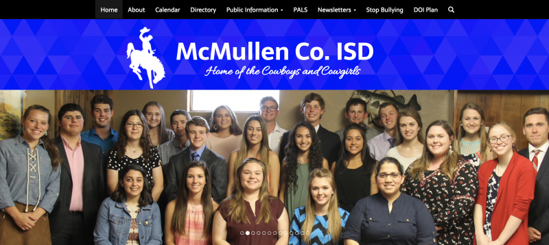 An Image showing McMullen County ISD