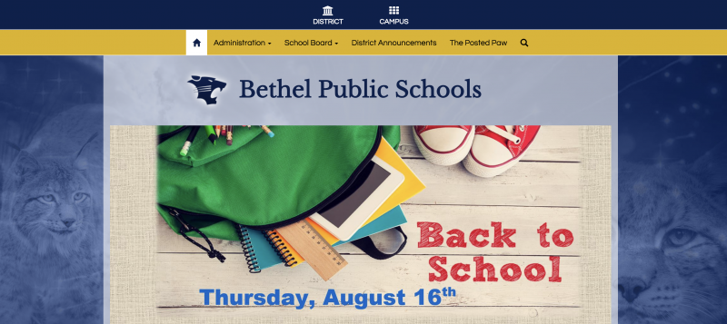 An Image showing Bethel Public Schools