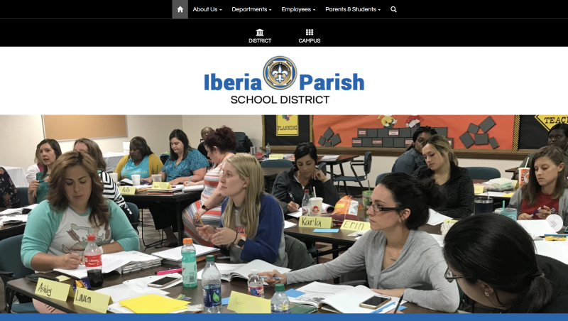 An Image showing Iberia Parish School District