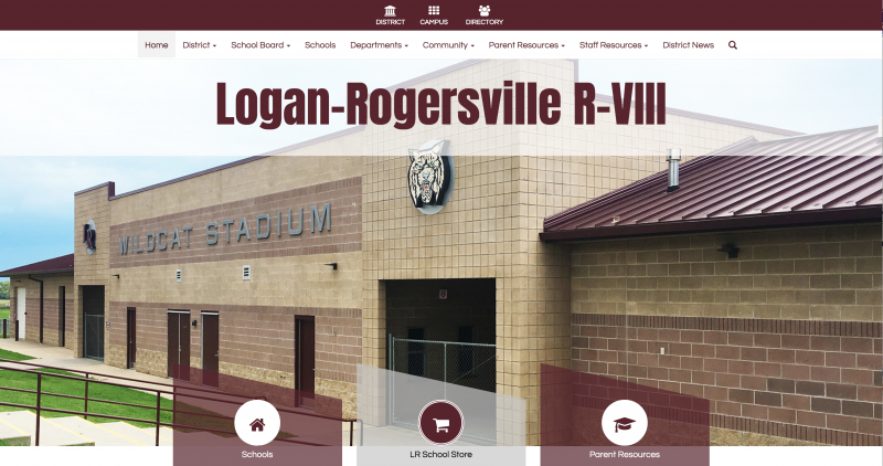 An Image showing Logan-Rogersville R-VIII