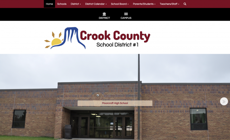 An Image showing Crook County School District 1