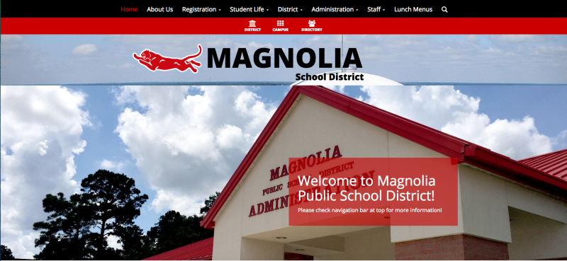 An Image showing Magnolia School District