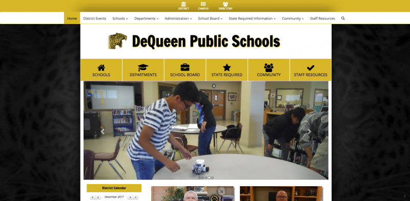 An Image showing DeQueen Public School