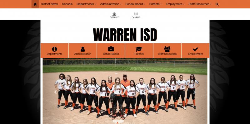 An Image showing Warren ISD
