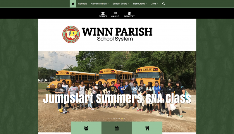An Image showing Winn Parish School Board