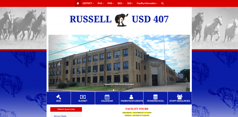 An Image showing Russell USD 407
