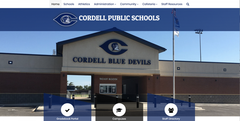 An Image showing Cordell Public Schools