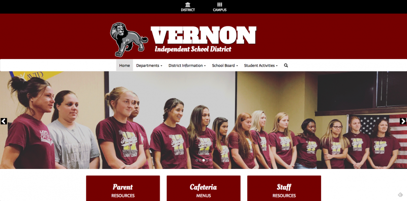 An Image showing Vernon ISD