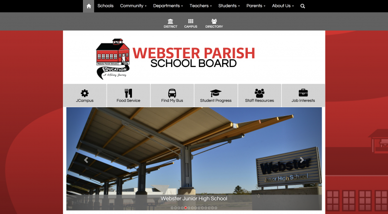 An Image showing Webster Parish School Board