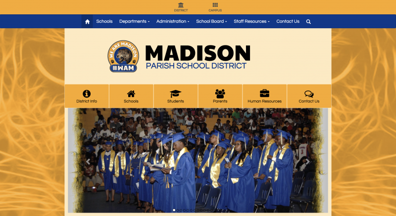 An Image showing Madison Parish School District