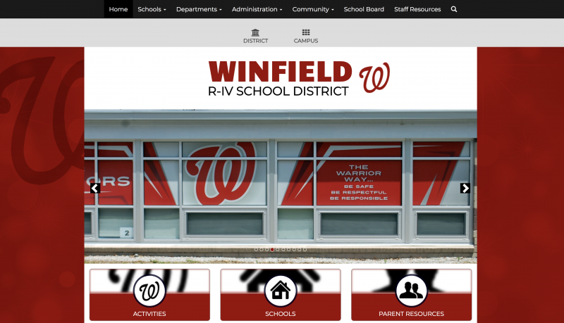 An Image showing Winfield R-IV School District