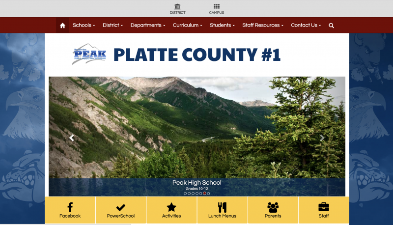 An Image showing Platte County School District 1