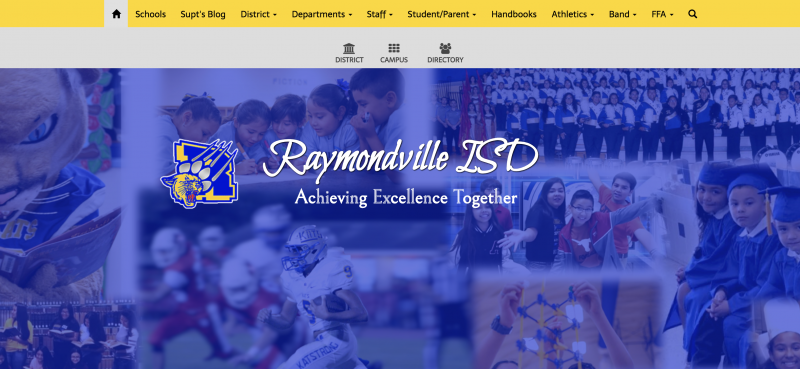 An Image showing Raymondville ISD