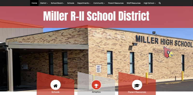 An Image showing Miller R-II Schools